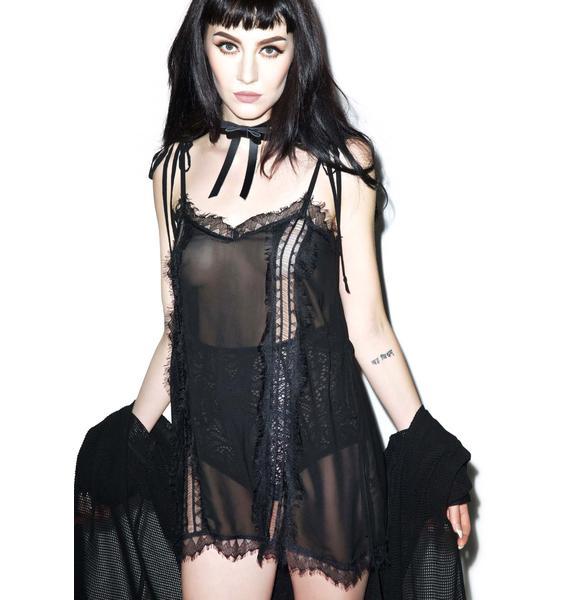 Widow Keep It Loose Slip Dress