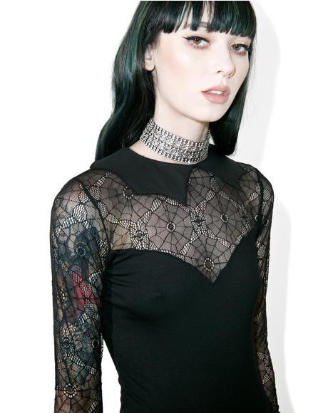 Salvation Lace Skater Dress