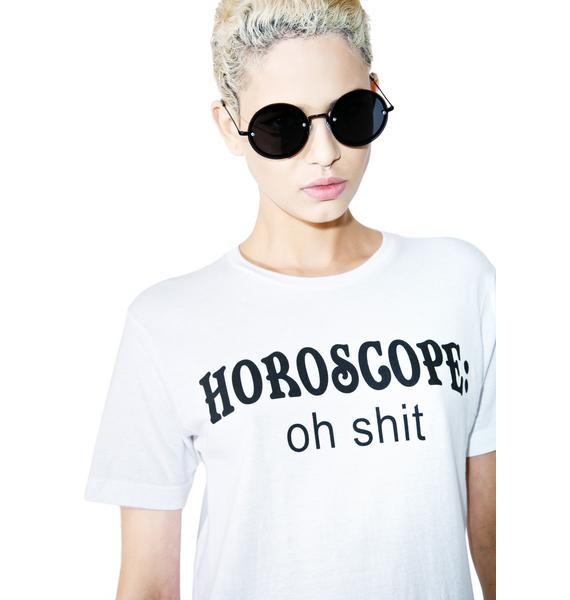 Burger And Friends Horoscope Tee