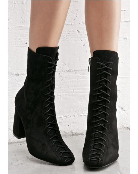 Mystery Lace-Up Boots