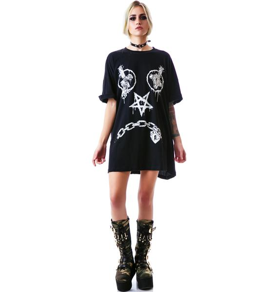 Long Clothing x Mishka Vex Oversize Tee