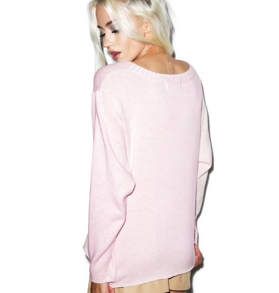 Wildfox Couture Suck it Up Vineyard Sweater
