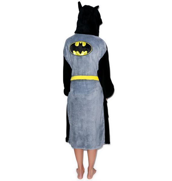 Undergirl Batman Hooded Robe