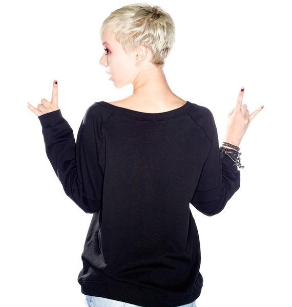 Zoe Karssen Dead 2 Me Smile Sweater