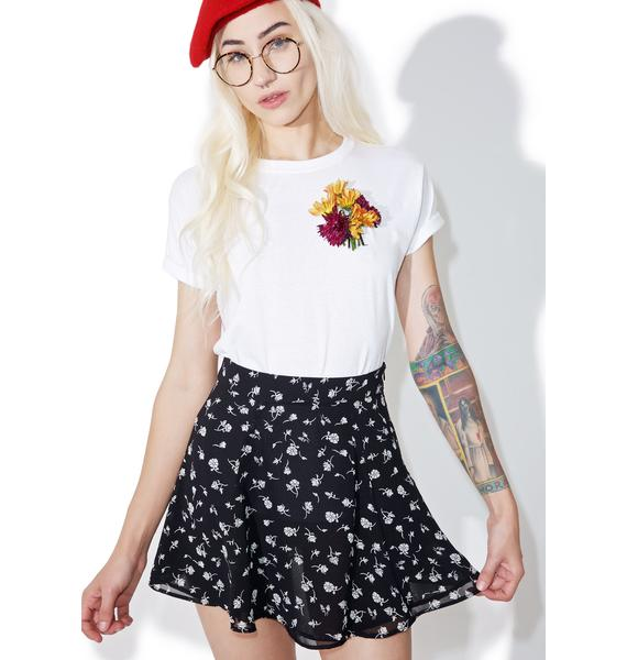 Wildfox Couture Floral Swing Set Skirt