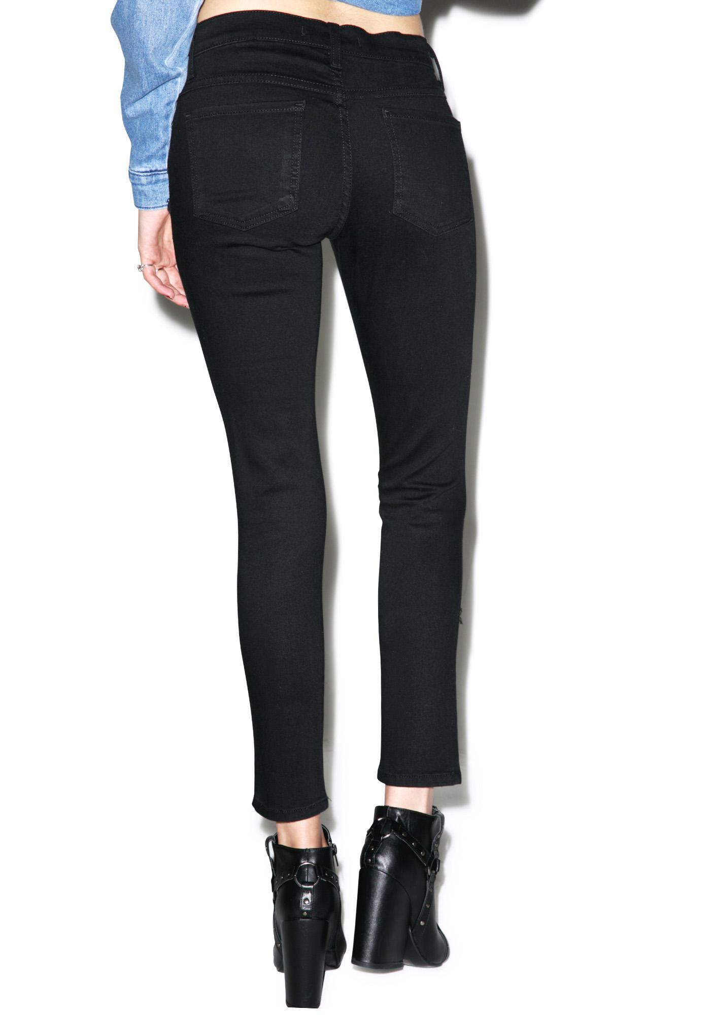 Cordelia Distressed Skinny Jeans