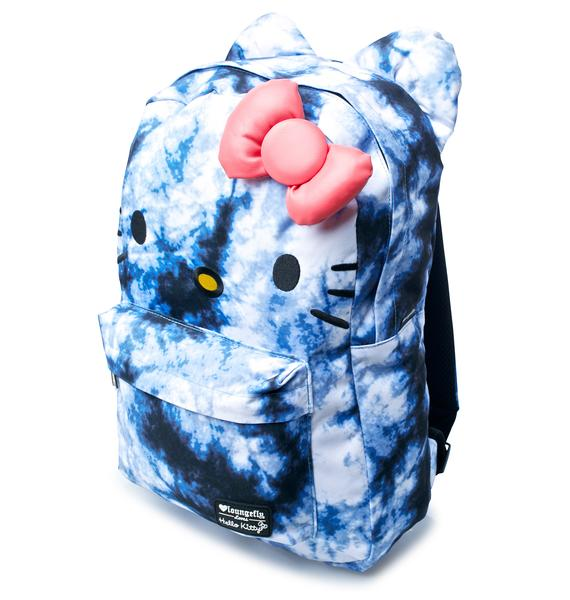 Loungefly Hello Kitty Tie Dye Backpack