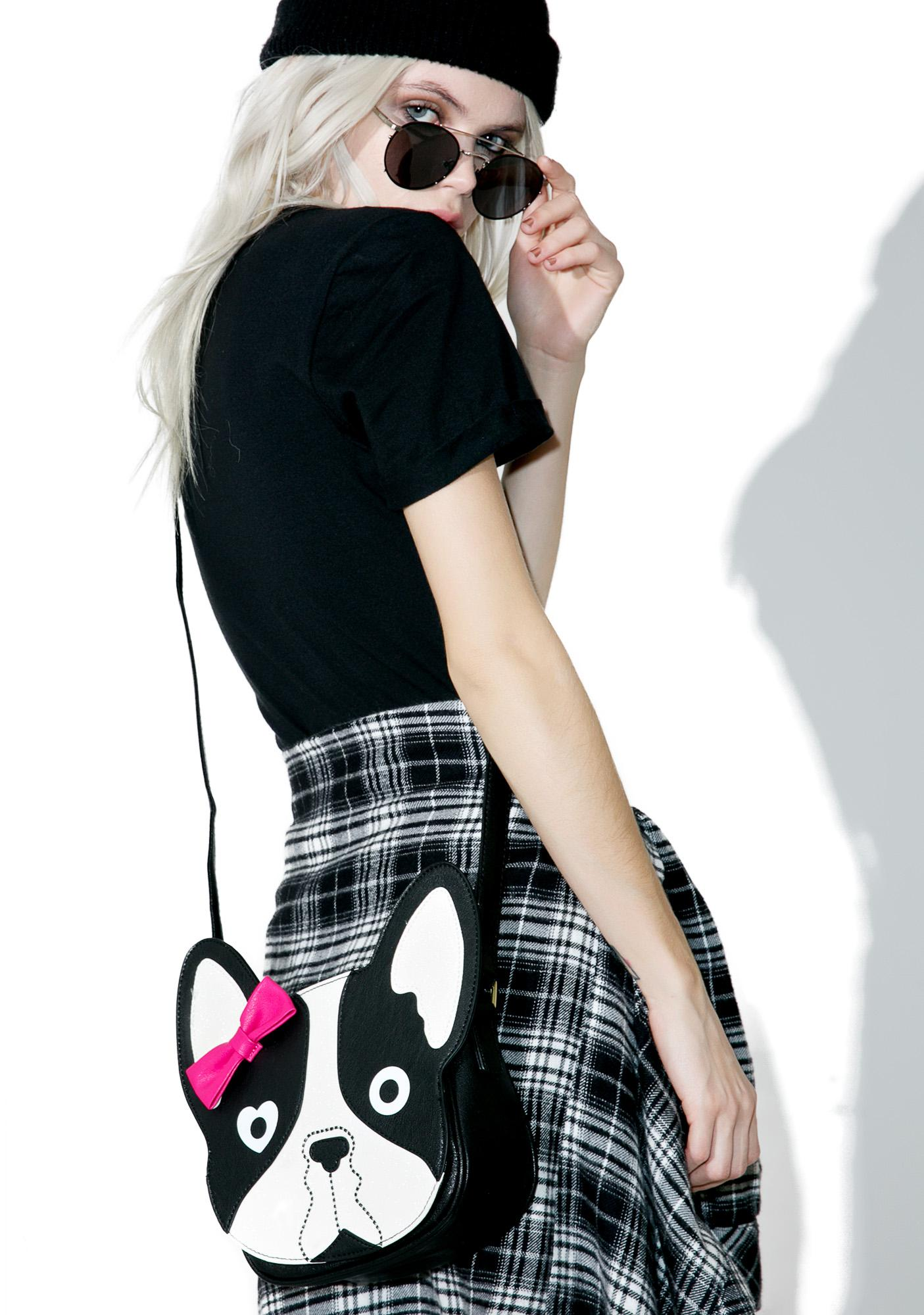 Betsey Johnson Puppy Crossbody Bag