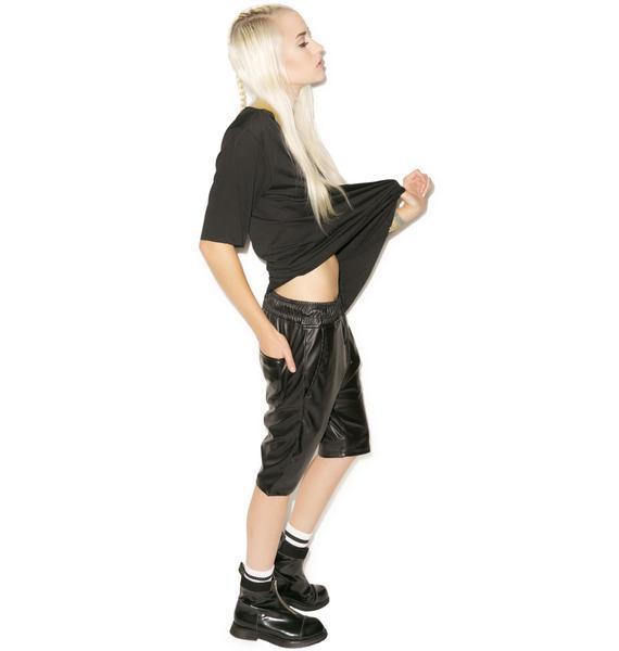 Mason Pleather Shorts