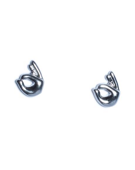OK Emoji Earrings