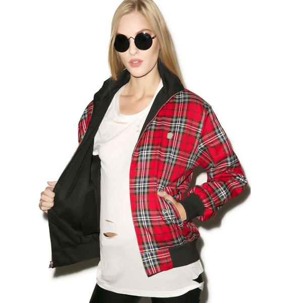 Long Clothing Harrington Jacket