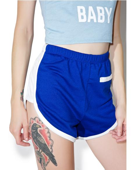 Royal Roller Girl Shorts