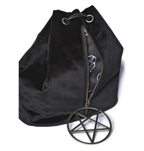 Velvet Legend Pentagram Backpack