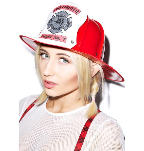Smokin Hot Firefighter Helmet