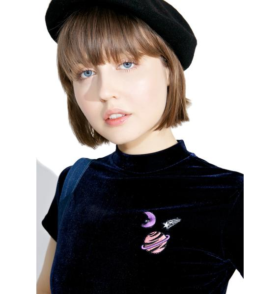 Lazy Oaf Midnight Planet Dress