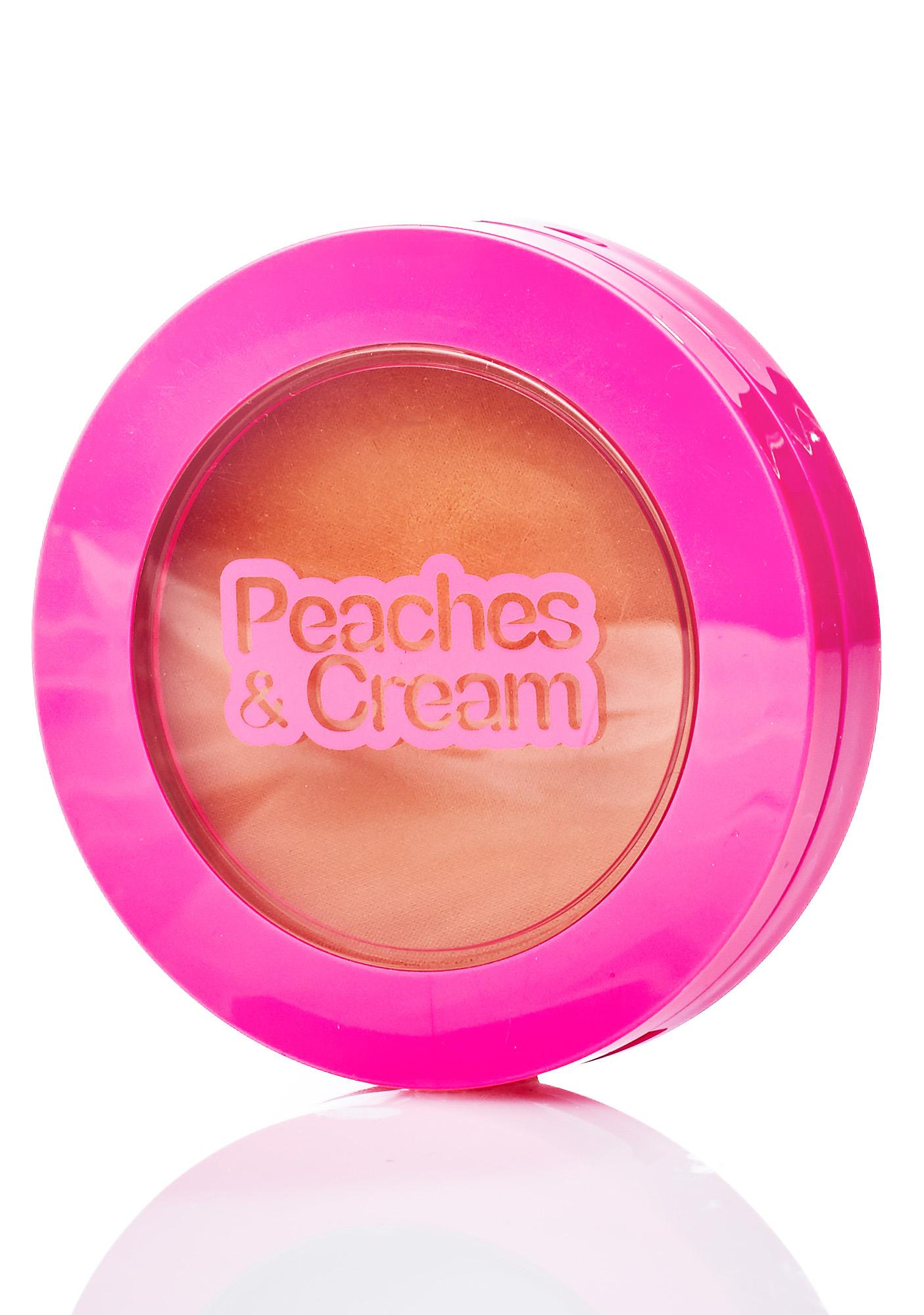 Peaches & Cream Matte Bronzing Powder