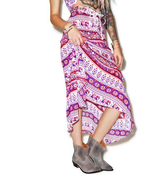 Somedays Lovin Mandala Maxi Skirt