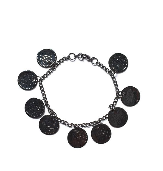 Dark Gypsy Coin Anklet