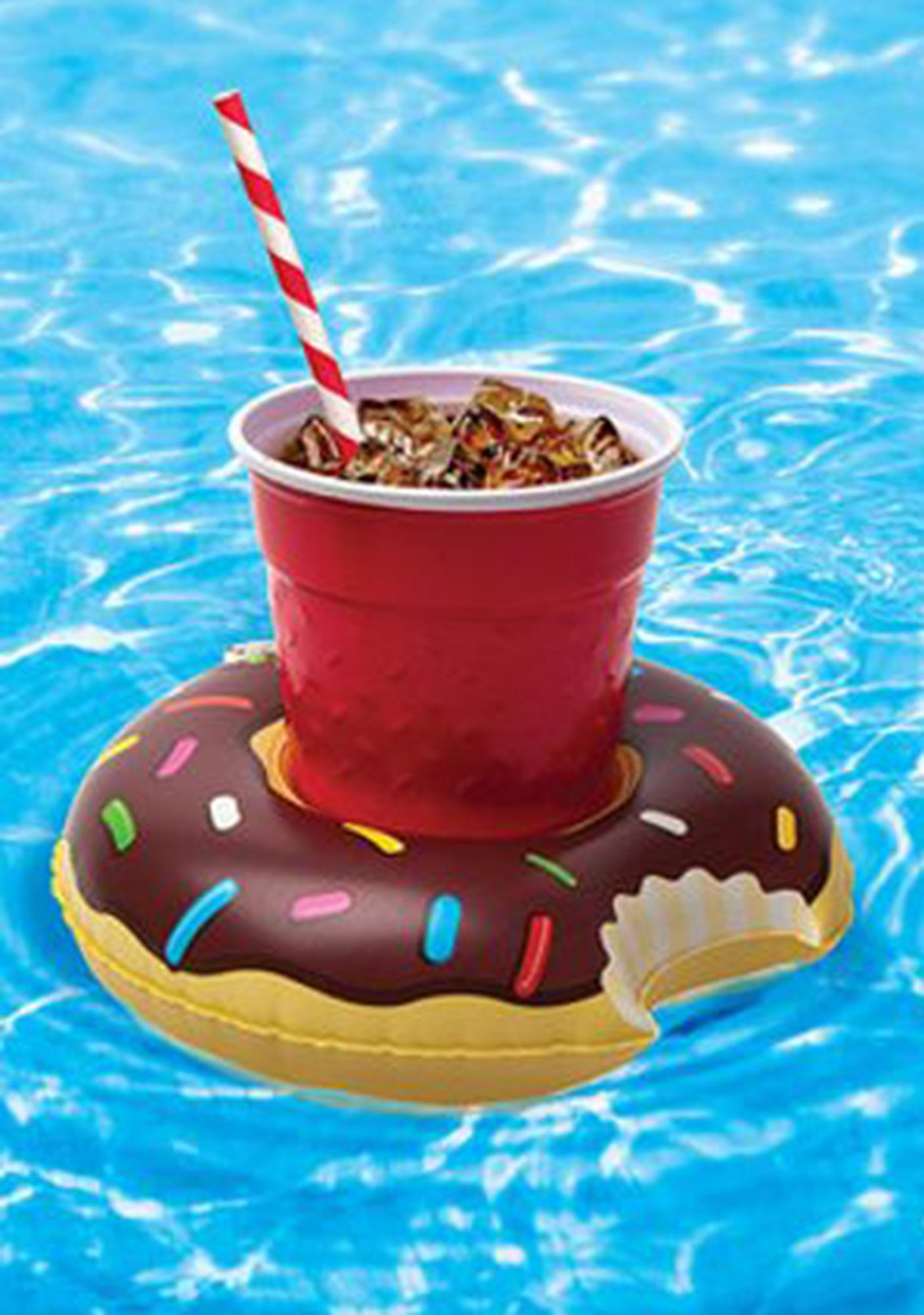 Sprinkle Donut Drink Floats