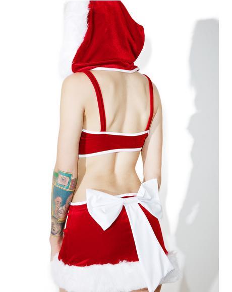 Mistress Claus Mini Dress