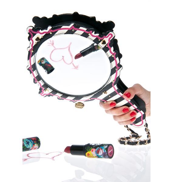 Betsey Johnson Mirror Mirror Wristlet