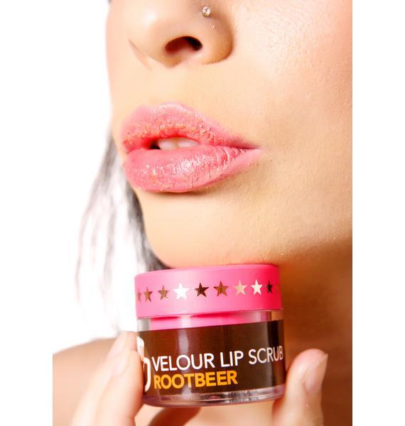 Jeffree Star Root Beer Velour Lip Scrub