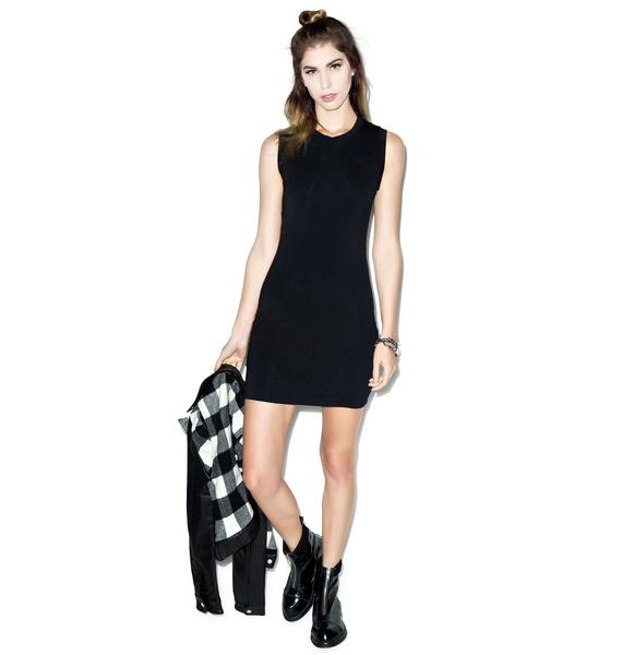 BLQ BASIQ Shake It Off Sleeveless Dress
