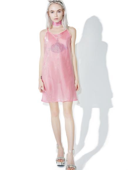 Sheer Beauty Cami-Dress