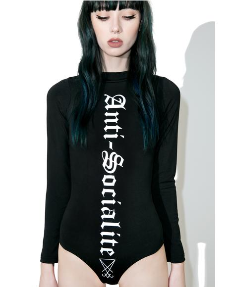 Anti-Socialite Bodysuit