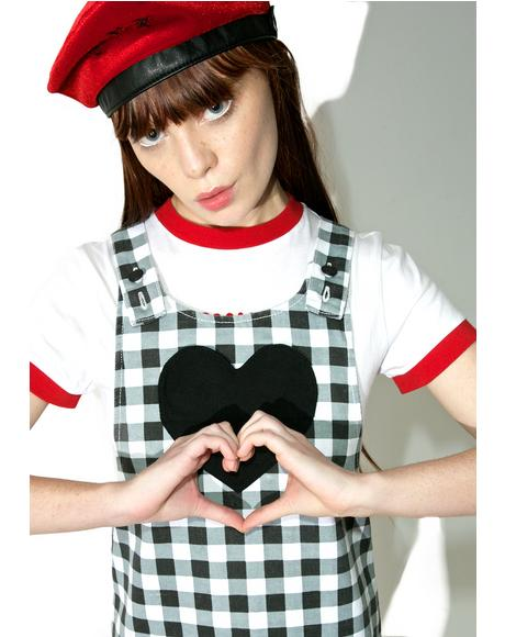Check Your Heart Pinafore