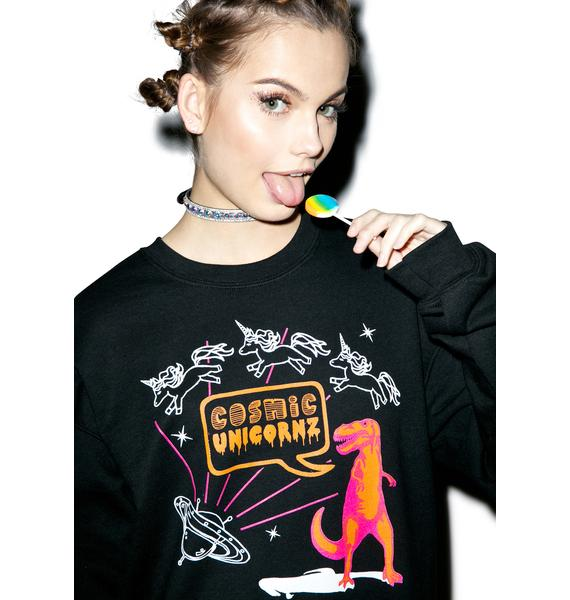 Unicornz In Space Sweatshirt