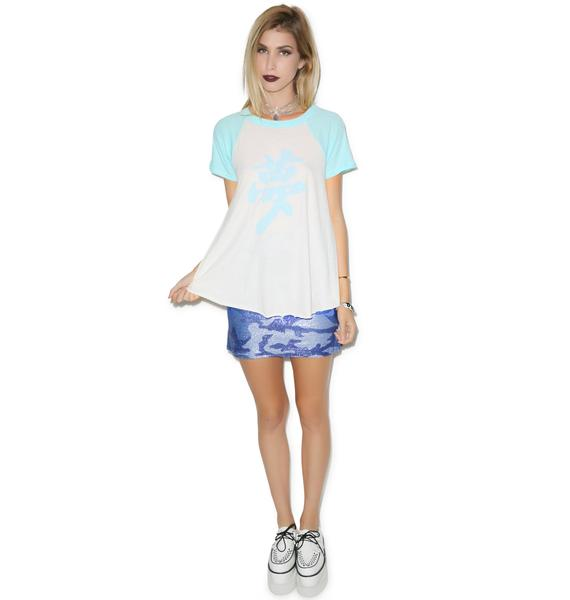 Wildfox Couture Dream Bonzai Retro Raglan
