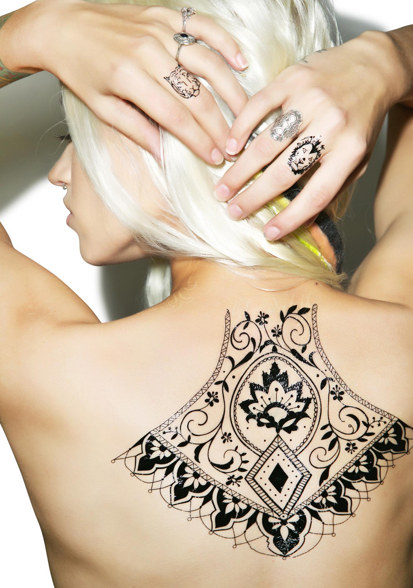 Primal Instincts Temporary Tattoos