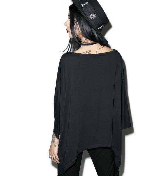 Killstar Virgo Drape Top
