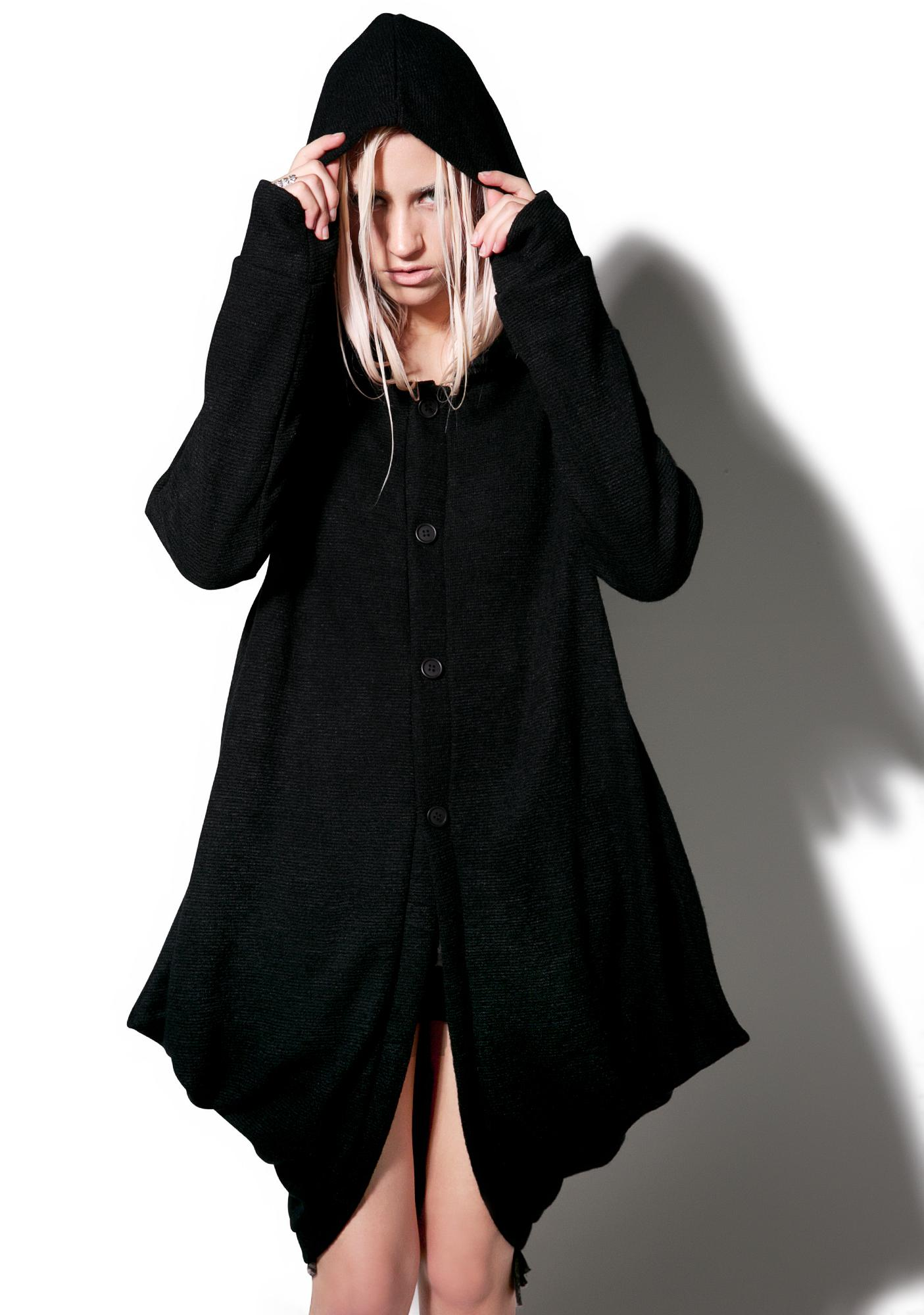 MNML Hawt Hooded Cardigan