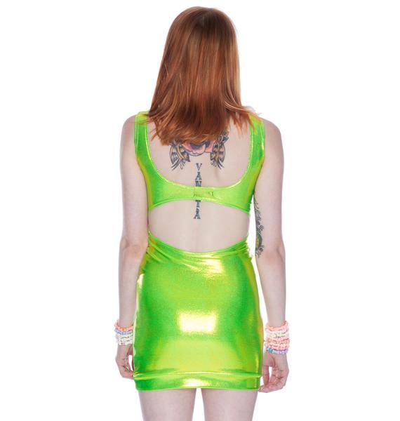 Quontum Shine Hole Dress