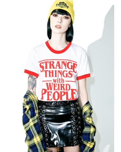 Strange Things Ringer Tee