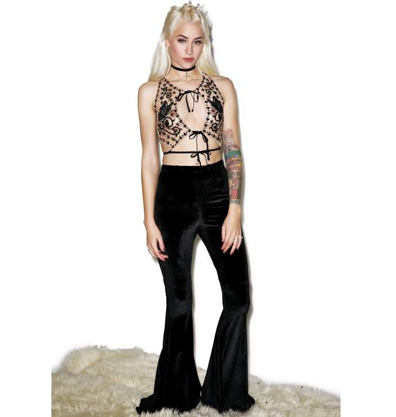 For Love & Lemons Karina Butterfly Top