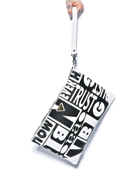 Trust Issues Clutch Bag