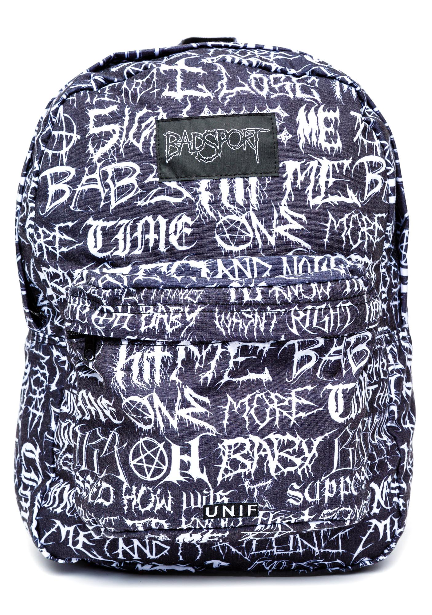 UNIF Badsport Backpack