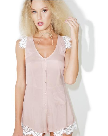 Blush Emmy Sleeper Romper