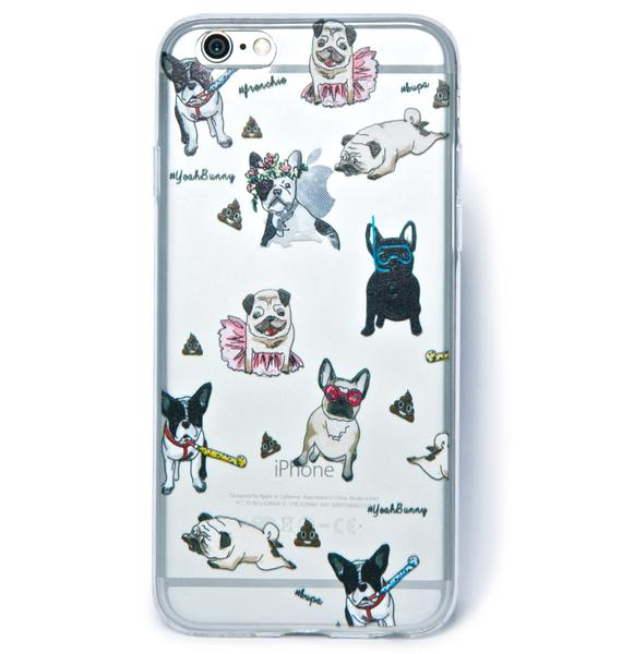 Yeah Bunny Pups N Poop iPhone 6 Case