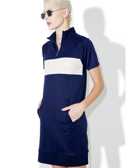 Navy Mercedes Dress