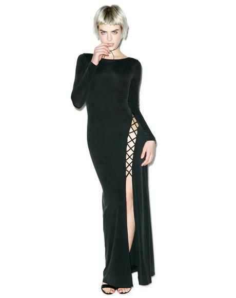 Novella Wrap Maxi Dress