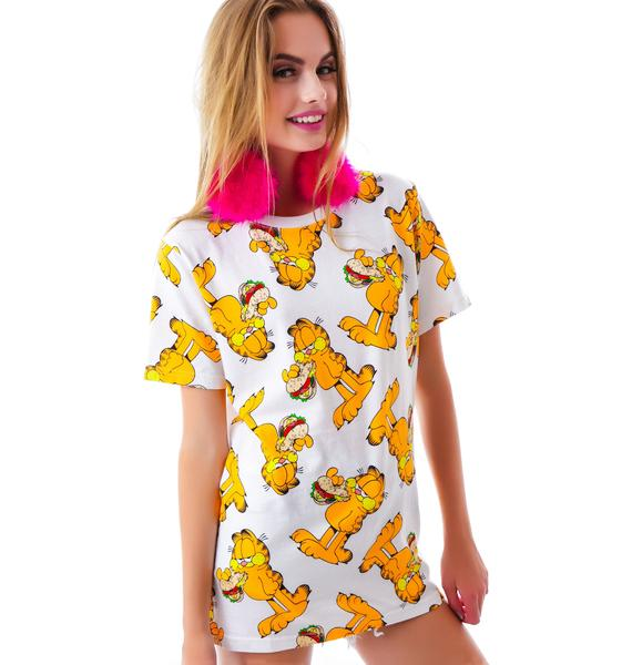 Lazy Oaf x Garfield Club Sandwich Tee