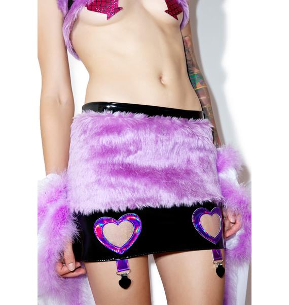 Kiss Me Kill Me Broken Doll Skirt