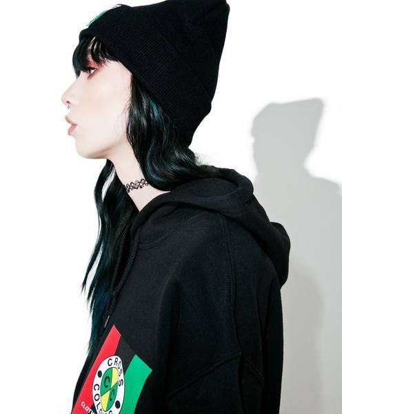 Cross Colours Woven Label Beanie