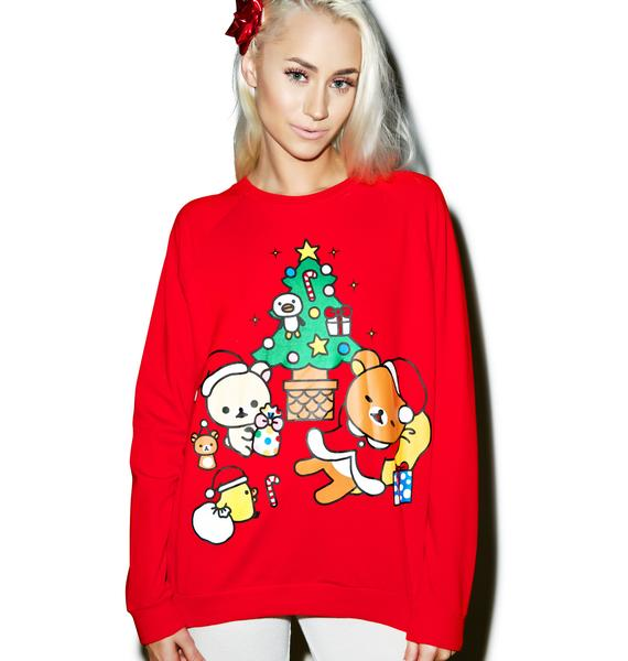 Japan L.A. Rilakumma Holiday Sweatshirt