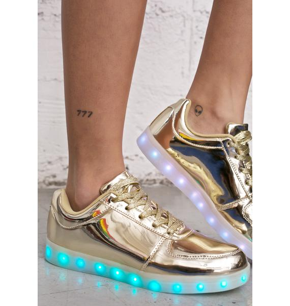 Finish Line Light Up Sneakers