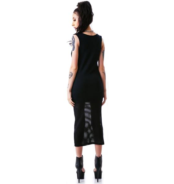 HLZBLZ Good Vs. Bad Mesh Dress